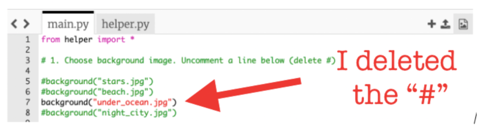 Deleted code