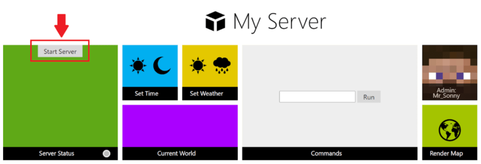 Start and join your server to create Minecraft mods
