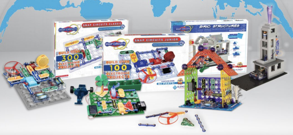 STEM snap circuits gift for kids